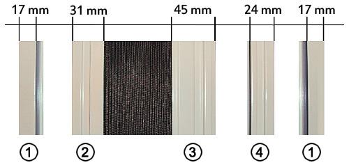 insektenschutz schiebet r typ 71 sundiscount. Black Bedroom Furniture Sets. Home Design Ideas
