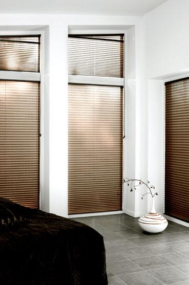 Schräge Fenster Abdunkeln plissee faltstores für fenster in sonderformen sundiscount