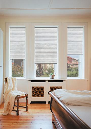 vivo halbtransparentes plissee nach ma sundiscount. Black Bedroom Furniture Sets. Home Design Ideas
