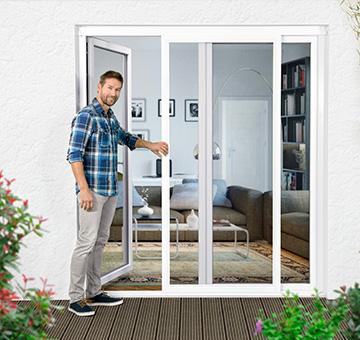 fliegengitter insektenschutz nach ma kaufen sundiscount. Black Bedroom Furniture Sets. Home Design Ideas