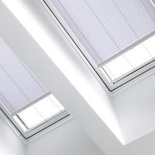 plissee nach ma f r plafondfenster und winterg rten sundiscount. Black Bedroom Furniture Sets. Home Design Ideas